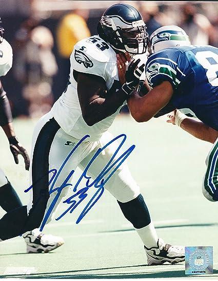 ffdae136 Autographed Hugh Douglas 8x10 Philadelphia Eagles Photo at Amazon's ...