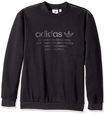 adidas Originals Palmeston Crew Herren Sweatshirt Black