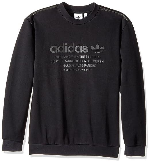4a0b956ae82f adidas Mens Originals Men's NMD Crew Sweatshirt Sweatshirt: Amazon.co.uk:  Clothing