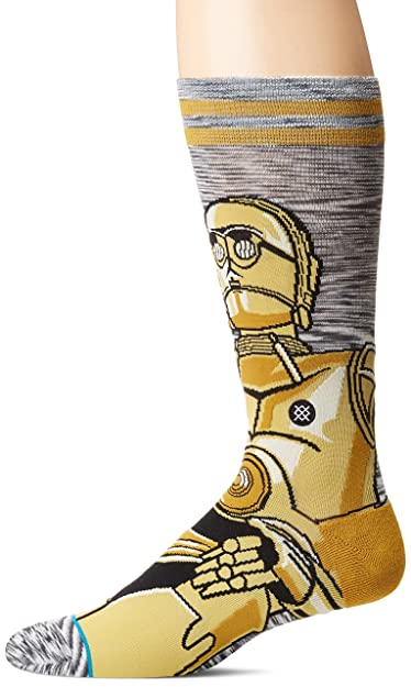 Stance x Star Wars Android Socks Gray 9EJx2c