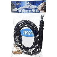 MD Wholesalers MYA Premium Black Freeze Hookah Shisha Hose Plus (Zebra Smoke Roll Coals)