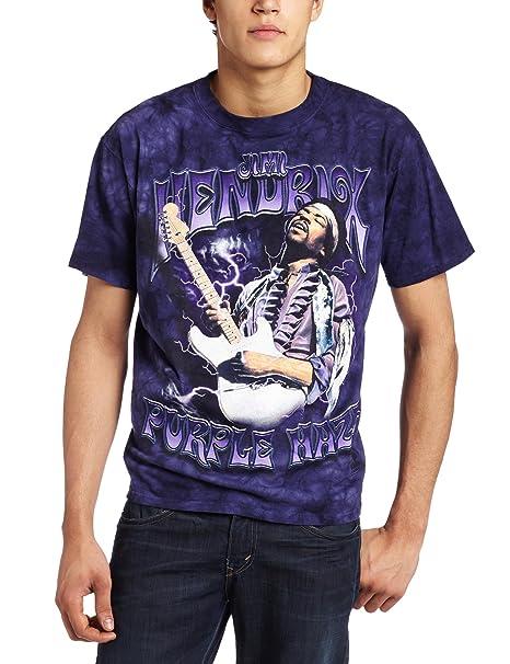 45caf0962a1939 Amazon.com: Liquid Blue Men's Jimi Hendrix Purple Haze T-Shirt: Clothing