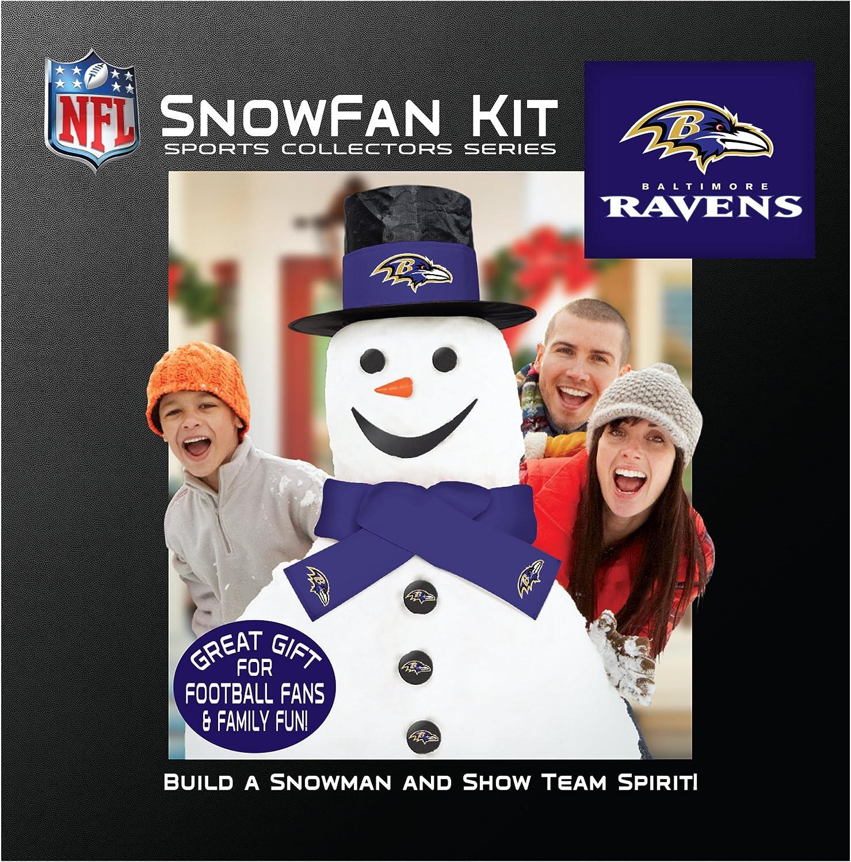 NFL Snowfan Snowman Kit
