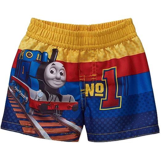 Amazoncom Thomas The Train Baby Boys Swim Trunks Clothing