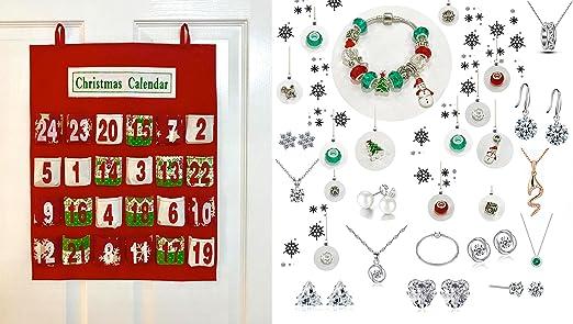 Amazon.com: Luxury 25 piece Advent Calendar with Swarovski: Home
