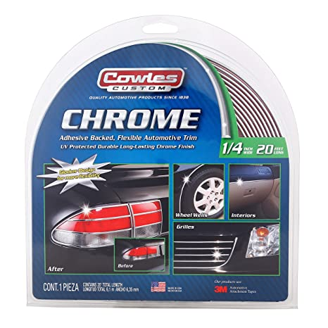 "5//16/"" x 12FT Chrome Silver Car Door Edge Guard Moulding Trim Protector Strip DIY"