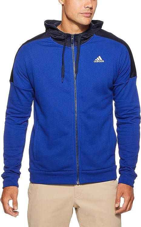 adidas Herren Kapuzen Jacke Sports Id Full Zip French Terry