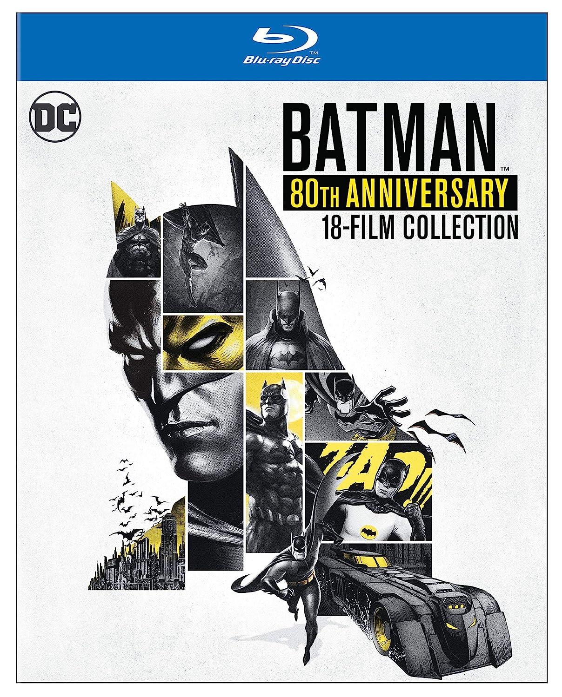 Batman: 80Th Anniversary Collection 19 Blu-Ray Edizione ...