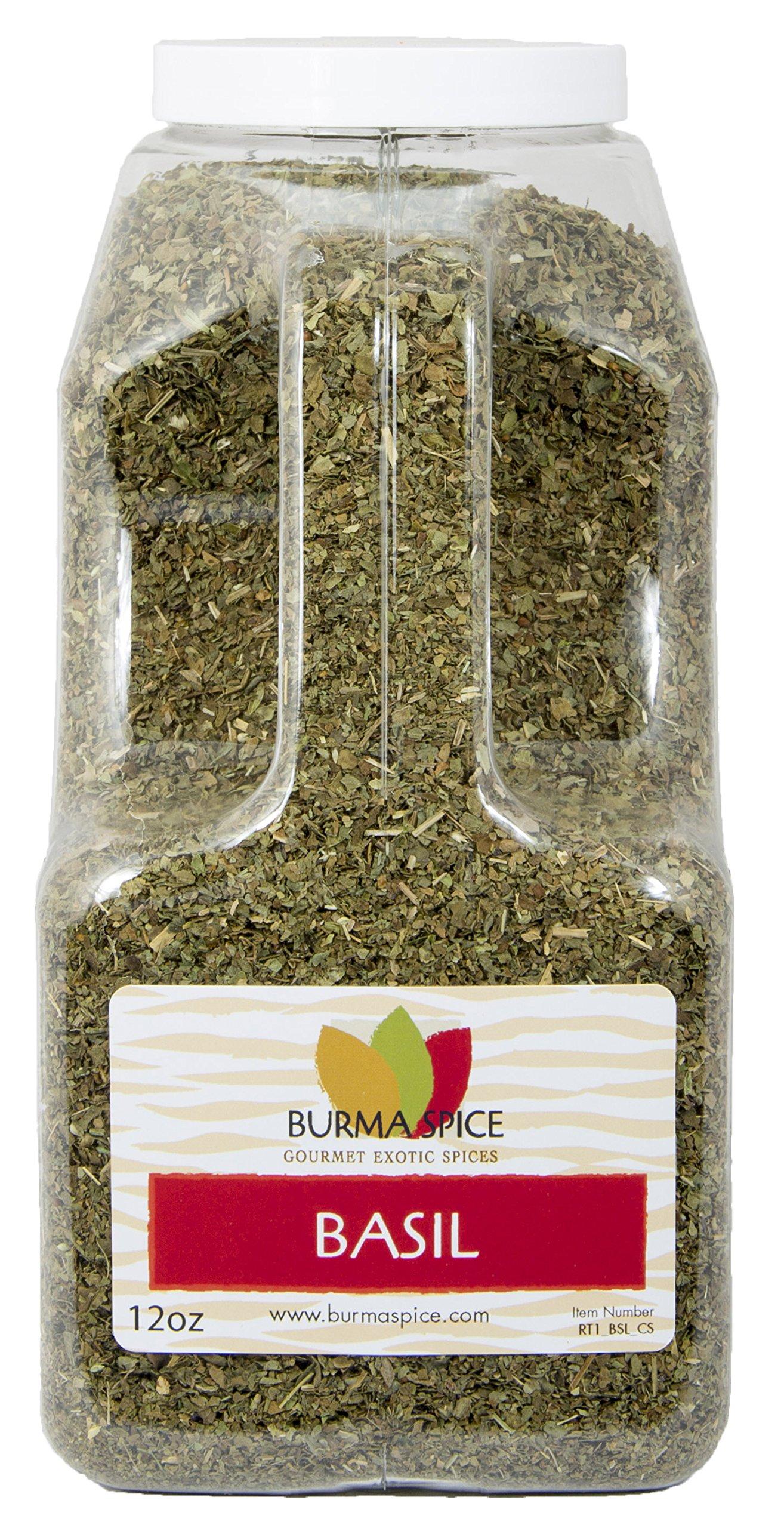 Dried Basil Leaves Herb Seasoning Kosher (12oz.)