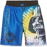 Star Wars-The Clone Wars Darth Vader Jedi Yoda Garçon Maillot de bain - bleu