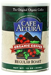 Café Altura Ground organic coffee