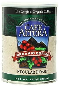 Café Altura Ground organic coffee