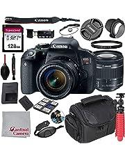 $649 » Canon EOS Rebel T7i 18-55mm f/4-5.6 is STM Kit + 128GB SD Card + Case (17pc Bundle)
