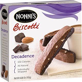 product image for Nonni's Biscotti, Decadence, 8-Count Boxes (Pack of 12)