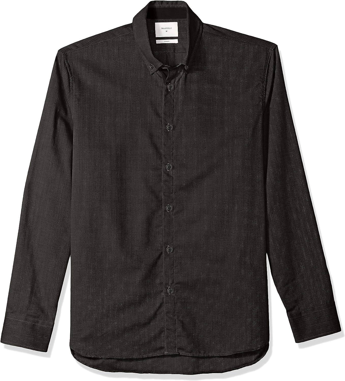 Billy Reid Mens Standard Fit Button Down Irvine Shirt