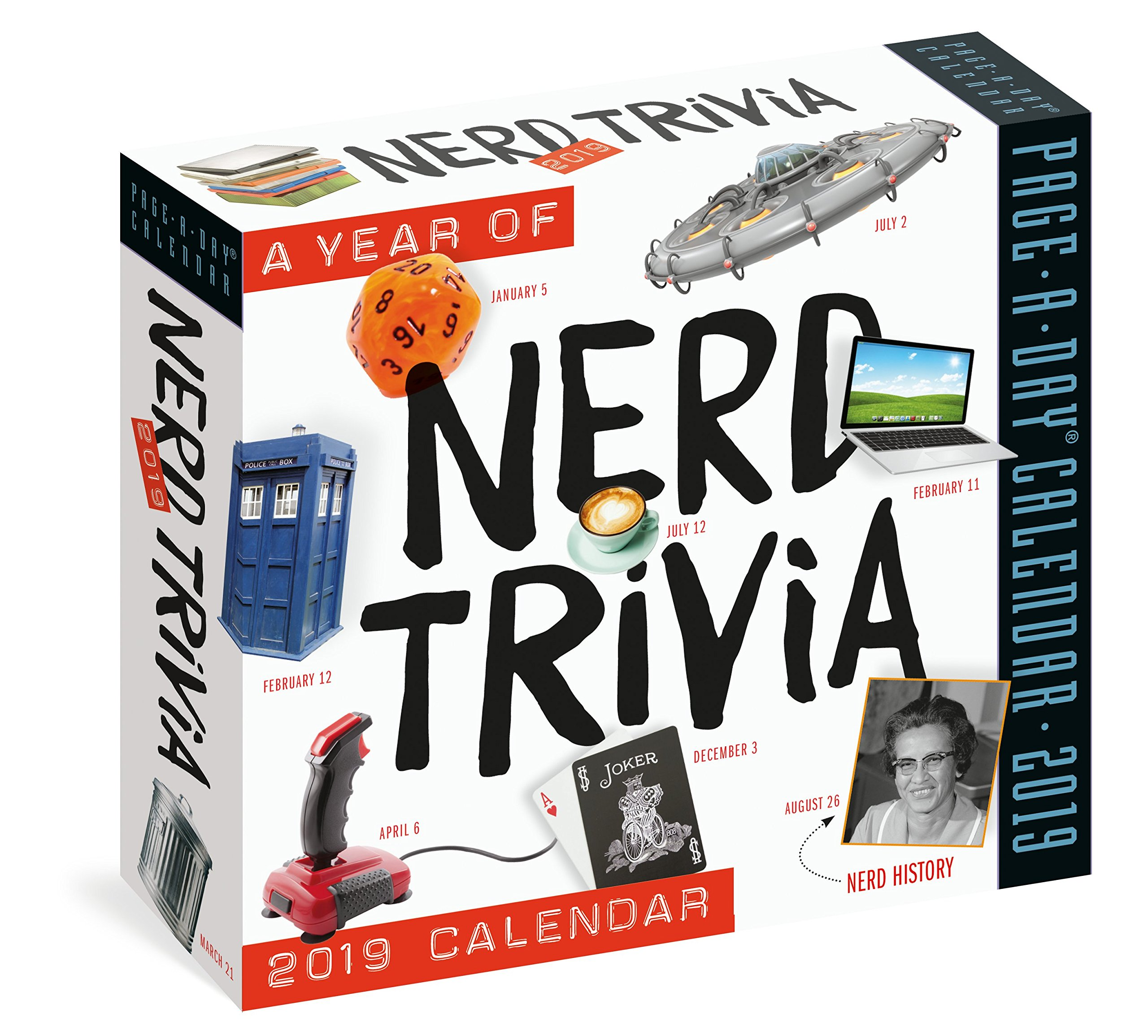 A Year of Nerd Trivia Page-A-Day Calendar 2019