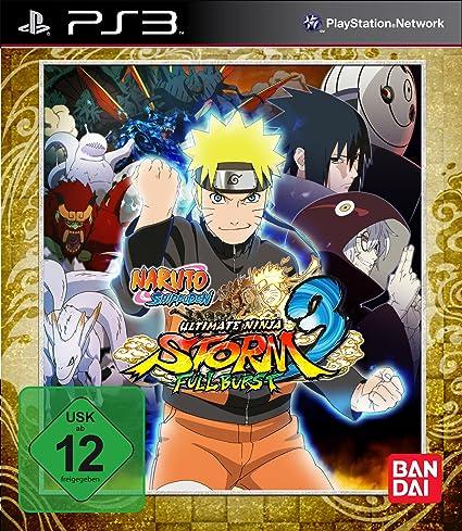 Naruto Shippuden - Ultimate Ninja Storm 3: Full Burst - D1 ...