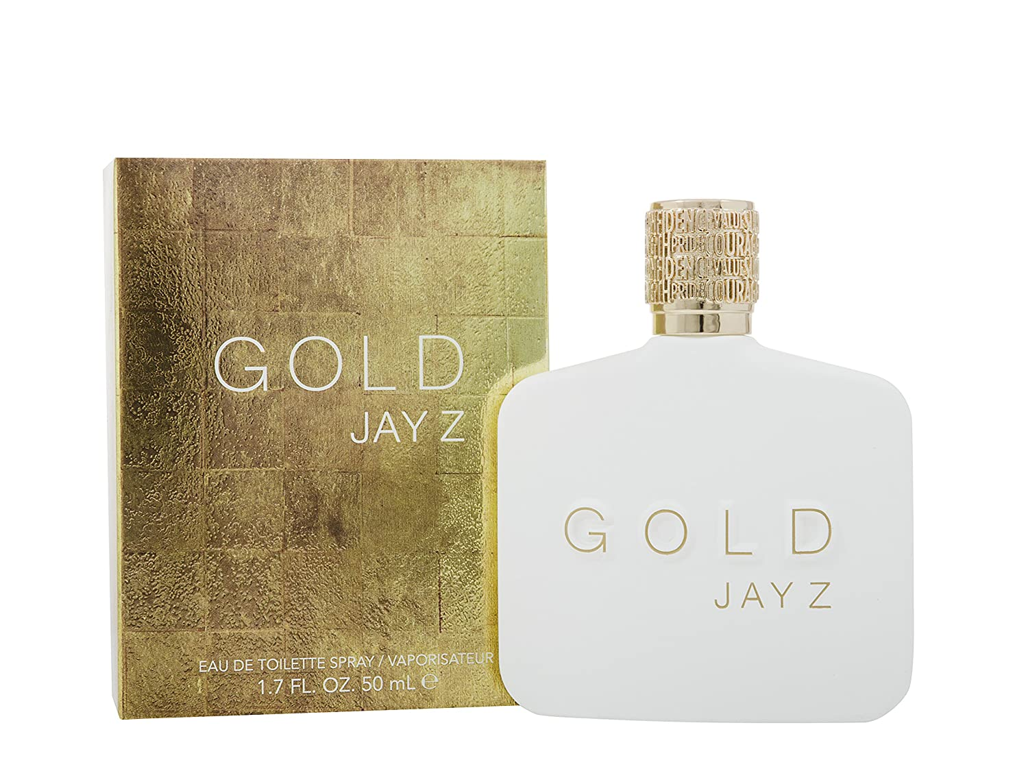 Jay Z Gold NIB Black Faux Leather Duffel Bag /& Gold Eau De Toilette Spray XL