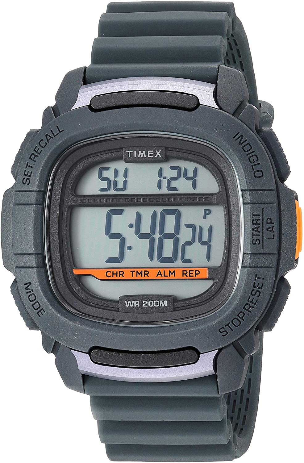 Timex Men s Command 47mm Silicone Strap Watch