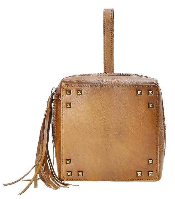 930de2ee08 ZLYC Womens Large Genuine Leather Wristlet Purse Handbag Tassel Crossbody  Shoulder Bags