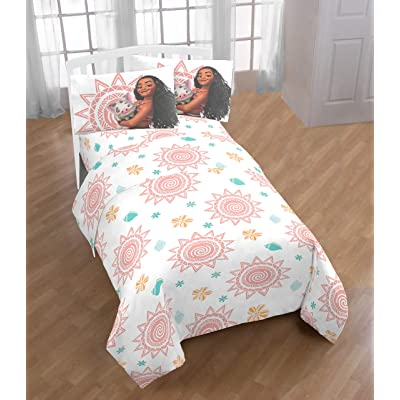 Disney Pixar Moana Twin Sheet Set 3 Piece Microfiber: Home & Kitchen