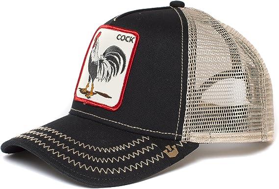Gorra para hombre de Goorin Brothers, con logotipo de gallo Negro ...
