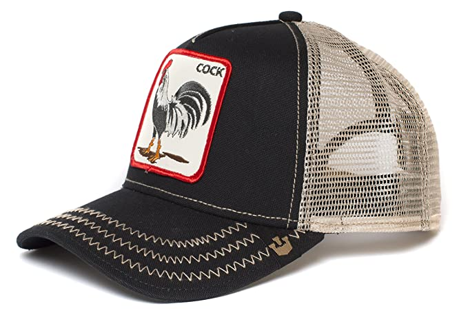 0a721c8a Goorin Bros. Men's Rooster Baseball, Black, One Size: Amazon.ca ...