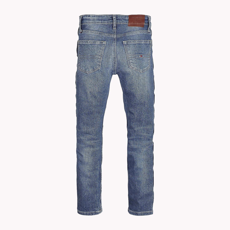 TOMMY HILFIGER Jungen U Randy Relaxed Cropped Vapbst Jeans