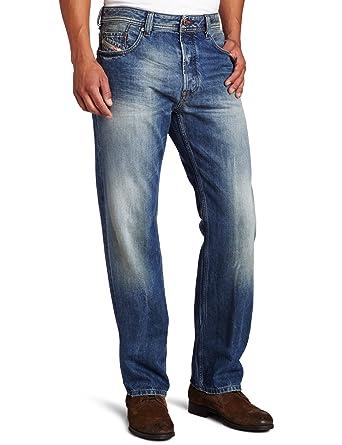 5680af50 Diesel Men's Larkee Relaxed Straight Leg 885V Jean, Denim, 32x30:  Amazon.co.uk: Clothing