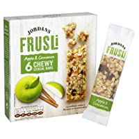 Jordans Apple and Cinnamon Frusli Cereal Bars, 180 g