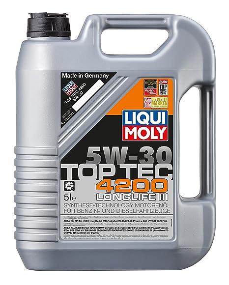 Liqui Moly 3707 Top Tec 4200 Aceite de Motor 5W-30