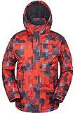 Mountain Warehouse Shadow Mens Snowproof Printed Hooded Ski Jacket