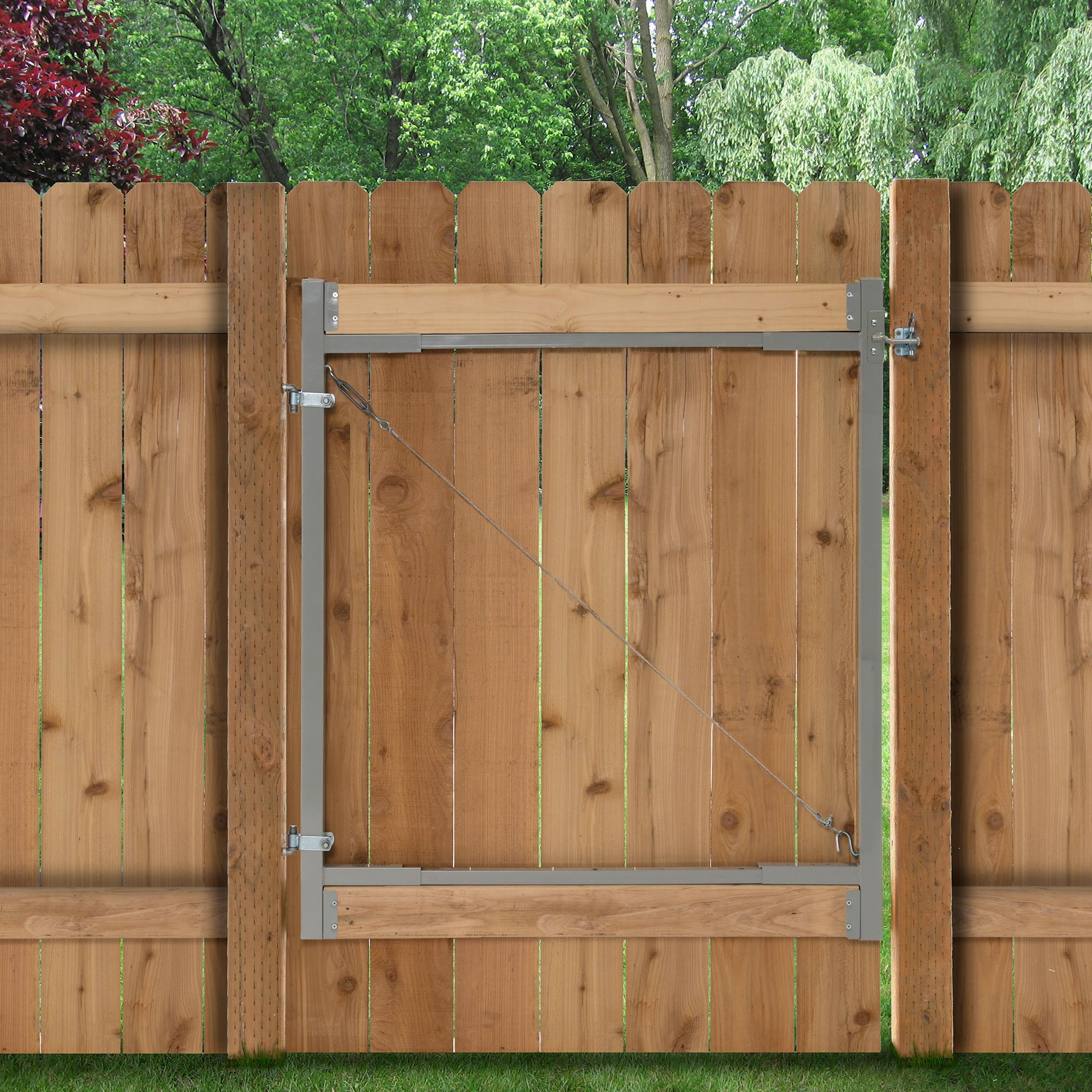 Adjust-A-Gate Gate Building Kit, 36''-72'' Wide Opening up to 6' High (3 Pack) by Adjust-A-Gate (Image #3)