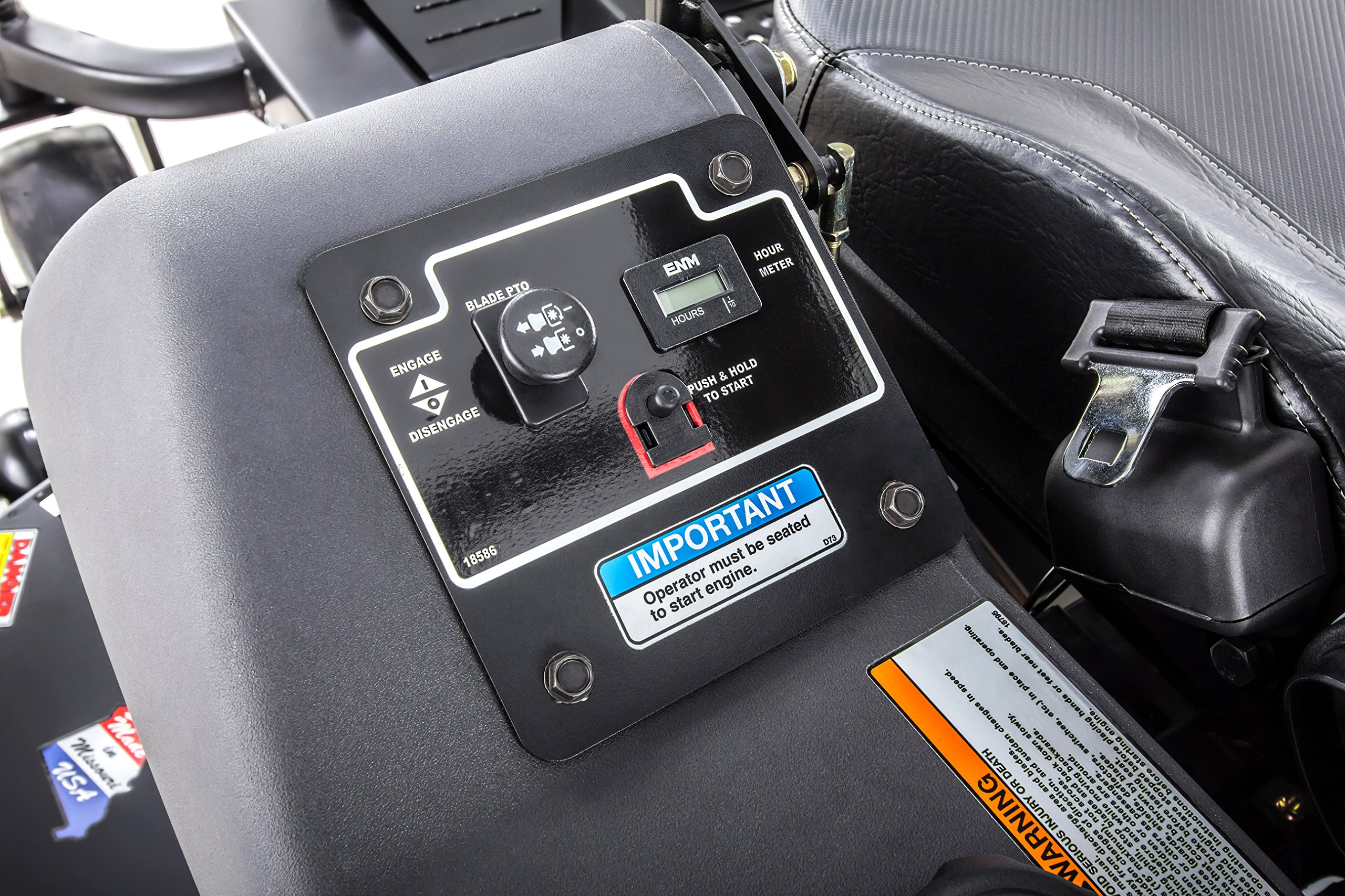 Swisher Z21554CPHO 21.5HP Reponse Gen 2 Honda Ztr Commercial Pro, Black, 54'' by Swisher (Image #15)