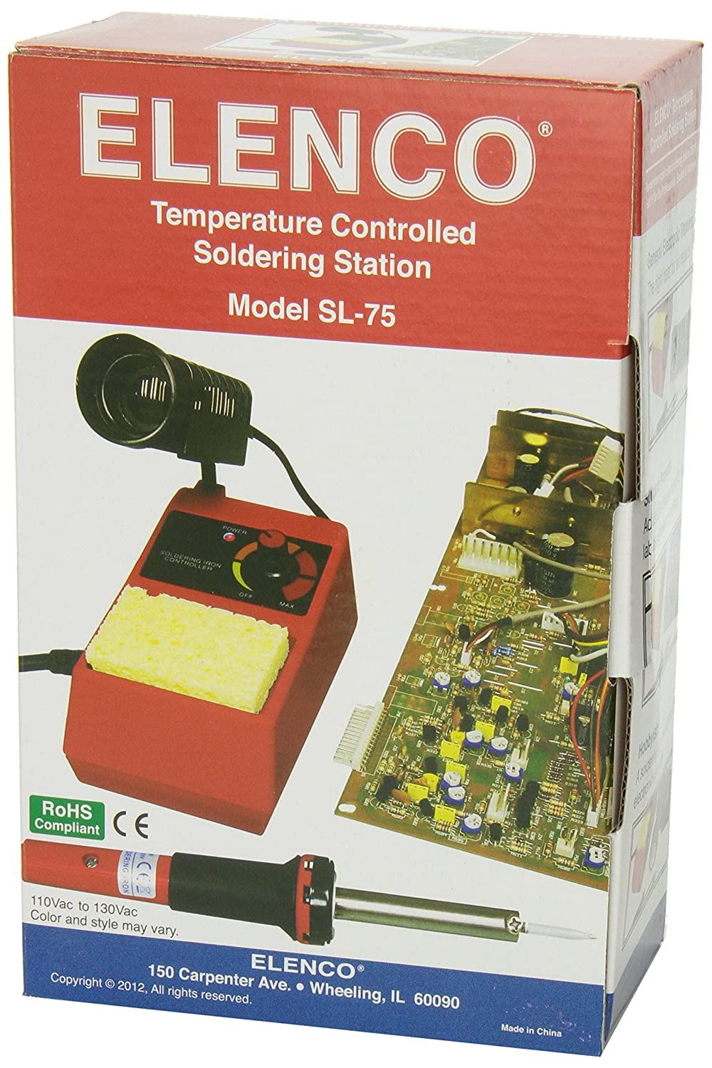 Elenco Soldering Station Electronics Kits Amazon Canada Weller Wlc 100 Temperature Controlled