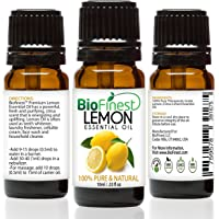 Biofinest Lemon Essential Oil - 100% Pure Undiluted - Therapeutic Grade - Italy Quality - Best For Aromatherapy…
