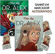 Kit Dr. Alex com marcador autografado por Rita Lee