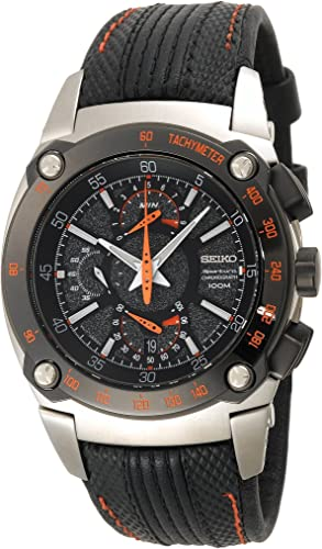 Seiko Mens SPC045 Sportura Dual Fly-back Chronograph Watch