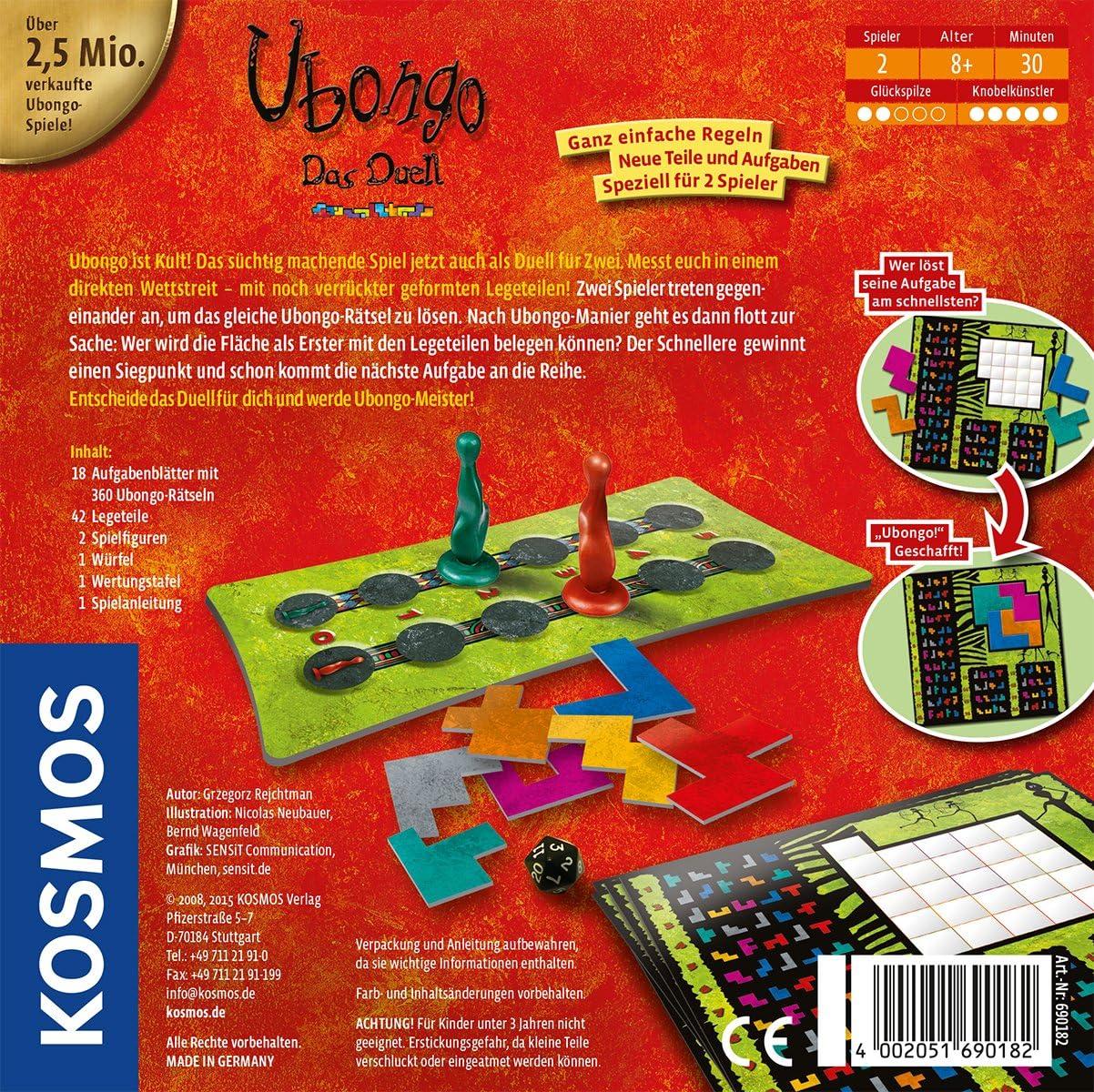 Kosmos 69018 - Juego de tablero (Multi, 20 cm, 20 cm, 4,9 cm ...
