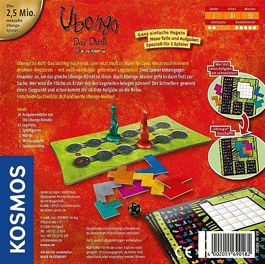 Kosmos 69018 - Juego de tablero (Multi, 20 cm, 20 cm, 4,9 cm): Rejchtman, Grzegorz: Amazon.es: Electrónica