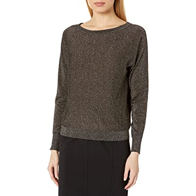 Velvet by Graham & Spencer Women's Abril Lurex Shine Sweater at Women's Clothing store