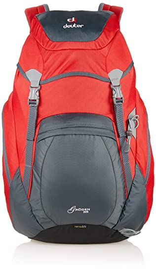 db23a35a2f8 Deuter Groden Hiking Backpack - Granite/Fire, 35 Litre: Amazon.co.uk ...