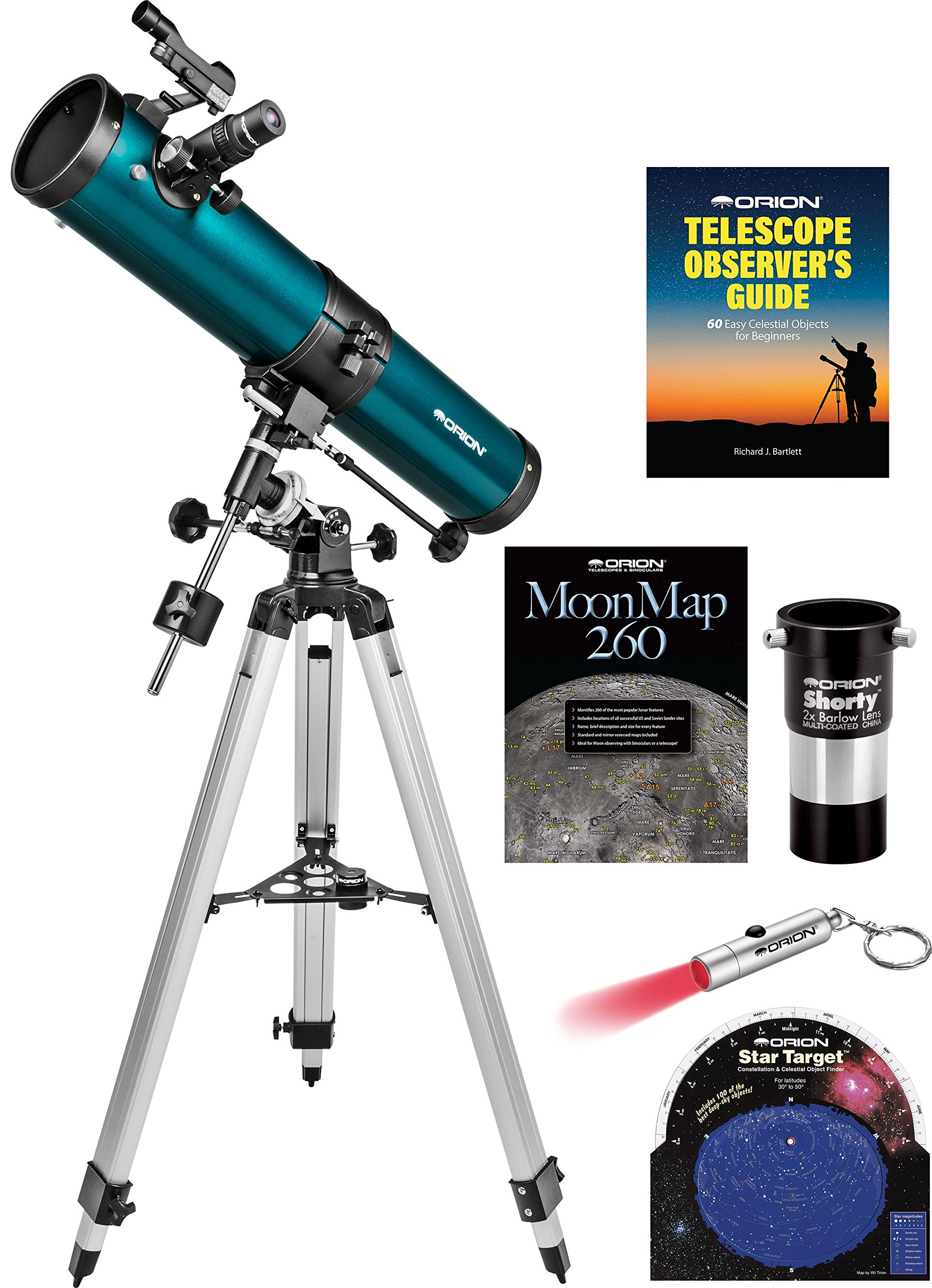 Orion SpaceProbe II 76mm Equatorial Reflector Telescope Kit by Orion