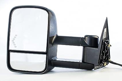 NEW GMC SIERRA HEATED Mirror Driver LEFT 2007 2008 2009 2010 2011 2012 2013 2014