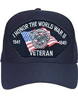 I Honor the World War II Veteran Ball Cap