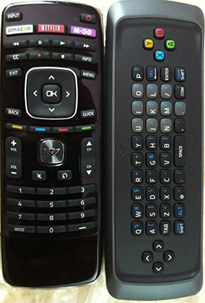 New Smart TV QWERTY Dual Side Keyboard Remote Control for XVT323SV XVT373SV  XVT423SV XVT473SV XVT553SV -This is Original Remote, do not Need Any