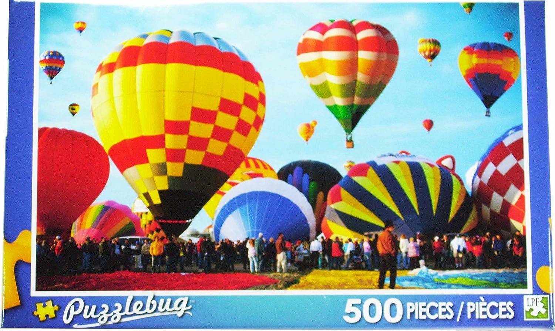 envío rápido en todo el mundo Puzzlebug - Albuquerque International Balloon Balloon Balloon Fiesta - 500 Piece by Puzzlebug  genuina alta calidad