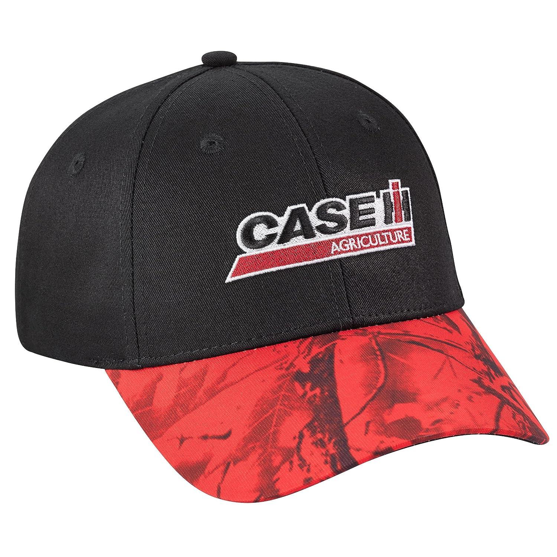 ab023f6f9f5 Case IH Red Camo Visor Cap at Amazon Men s Clothing store