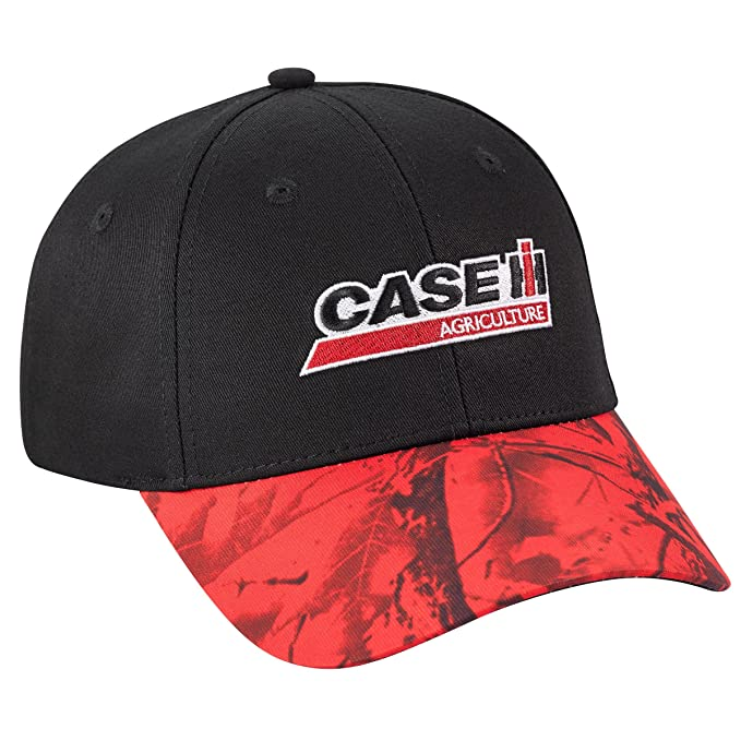 Image Unavailable. Image not available for. Color  Case IH Red Camo Visor  Cap 733326dd6b30