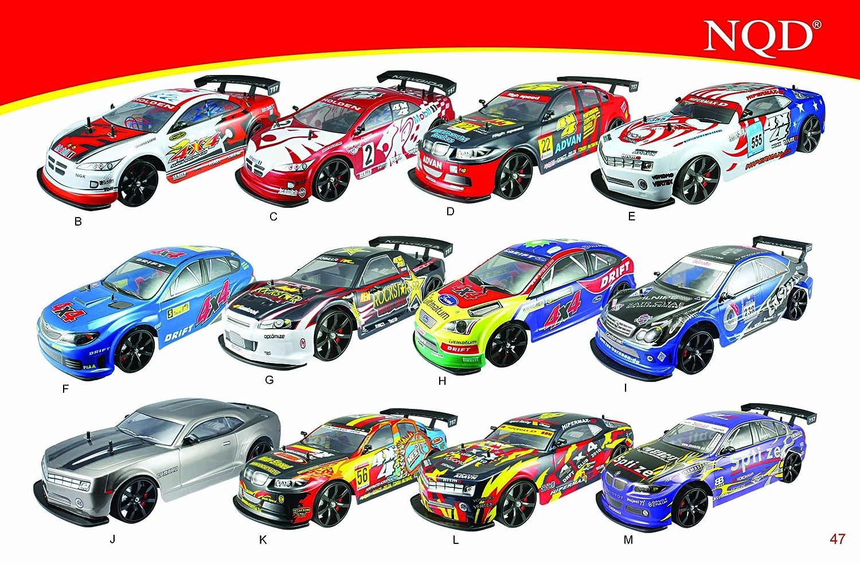 1 10 Scale Of 4 Wheel Drive 4wd Drift R C Racing Car